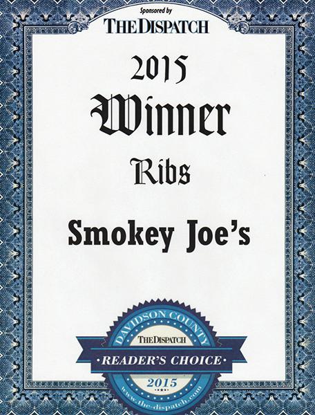 Best ribs 2015