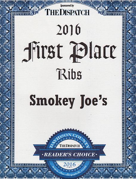 Best ribs 2016